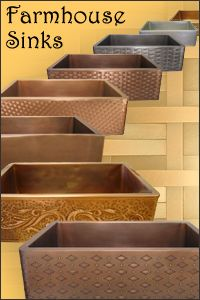 Custom Copper Range Hoods, Farmhouse Sinks - American Made Lighting & Metal Products