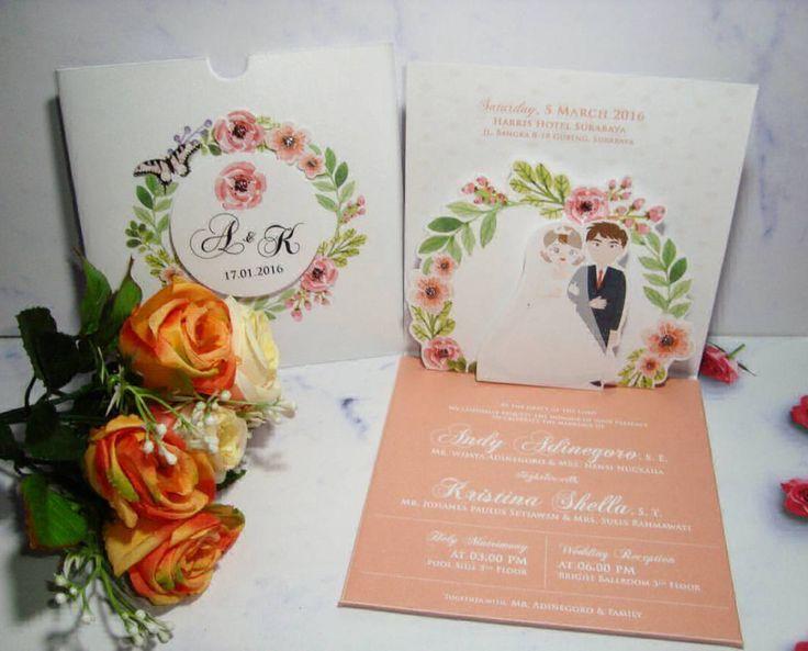 Foto undangan pernikahan oleh Florence