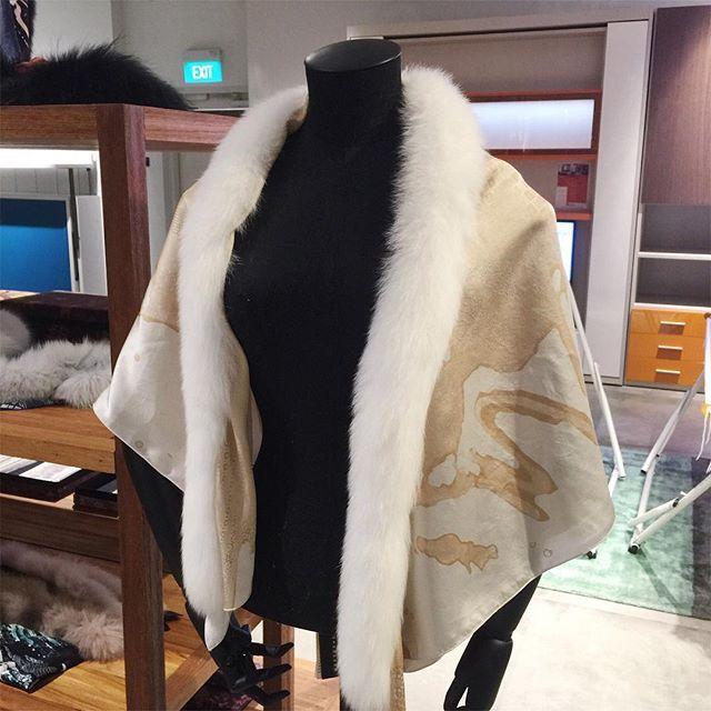 MARTHAwho Urban Fox Fur Collection  All Hand painted Silk Scarf by marthawhoscarf. ethicalfashion #tropical #fur #fashion #design #indonesia #designer #kimono #art #accessory #sustainable #singapore #inspo #style #streetstyle #scarf #chooseartisan #amazing #love #departmentstore #beautiful #shopping #creative #sgshopping #shibori #batik #instasg #travel #luxury #igsg #TagsForLikes #TagsForLikesApp #TFLers #tweegram #photooftheday #20likes #amazing #smile #follow4follow #like4like #look…
