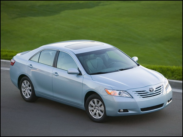 Toyota Camry                          2009 Is my car.  Same color.