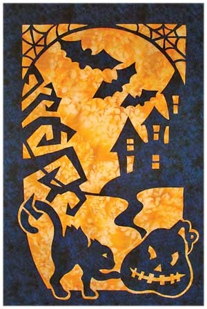 halloween quilts! kit from keepsake quilting $39.99, includes backing. 24x36 inches.: Halloween Quilts, Pacific Rim, Quilt Patterns, Appliques Quilts Patterns, Quilts Halloween, Halloween Patterns, Quilts Kits, Quilts Ideas, Halloween Sconces