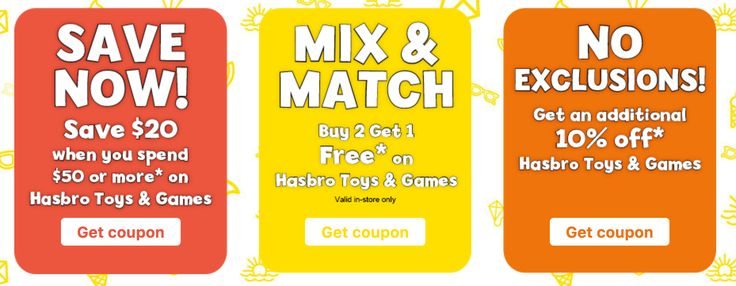 Toys R Us Canada Coupon Deals to Save on Hasbro Toys & Games http://www.lavahotdeals.com/ca/cheap/toys-canada-coupon-deals-save-hasbro-toys-games/210483?utm_source=pinterest&utm_medium=rss&utm_campaign=at_lavahotdeals