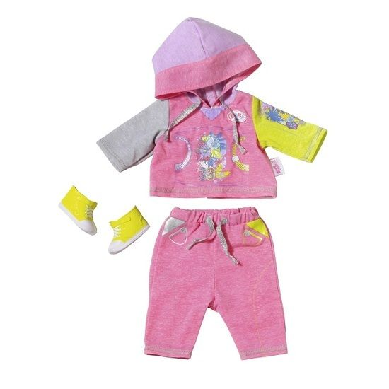 Baby Born Deluxe Jogging Set Pink