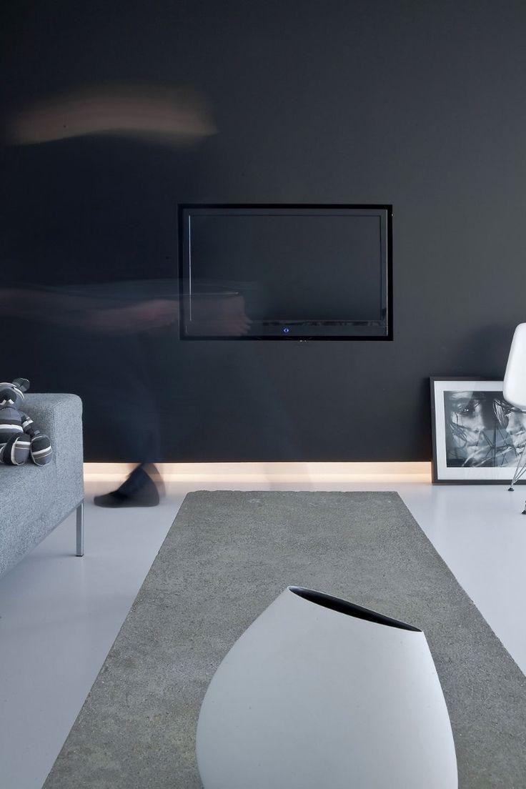 | MODERN + BLACK | #black #wall Minimal Penthouse