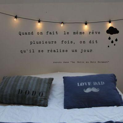 Les 25 meilleures ides de la catgorie Guirlande lumineuse chambre sur Pinterest  Guirlande