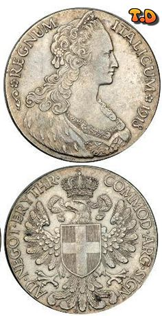 N♡T.1918, Eritrea (Italian Colony). Large Silver Tallero Dollar Coin.Mint Year: 1918 Mintage: 510,000 pcs. Mint Mark: R (Rome, Italy) Denomination: Tallero (Trade Dollar). Reference: Pagani 956, Davenport 28, KM-5. Material: Silver (.835) Weight: 27.92gm Diameter: 39mm