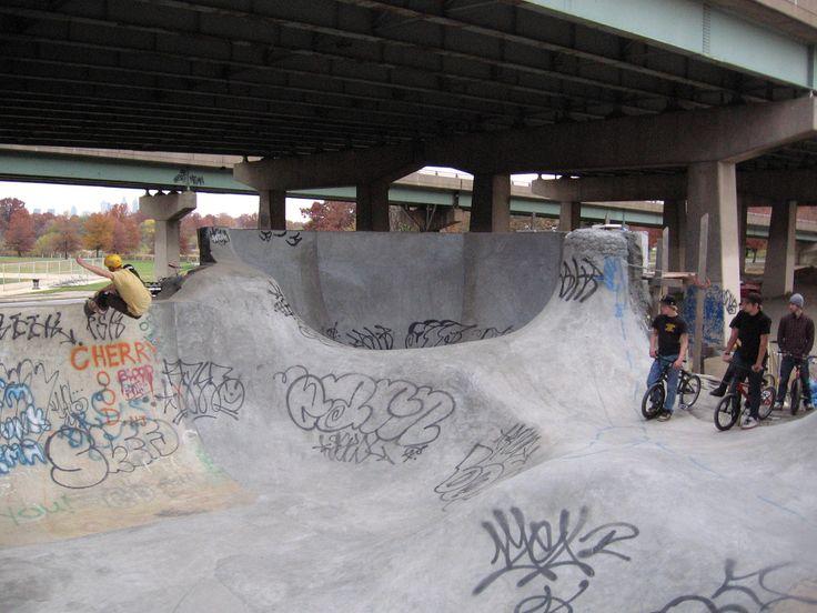 fresh crete at fdr skatepark