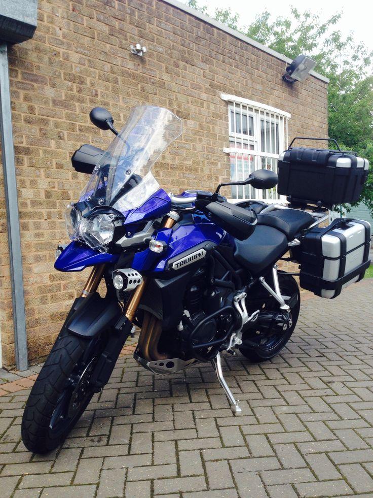 25 melhores imagens de motorcycles no pinterest carros motos triumph tiger explorer full luggage fandeluxe Choice Image