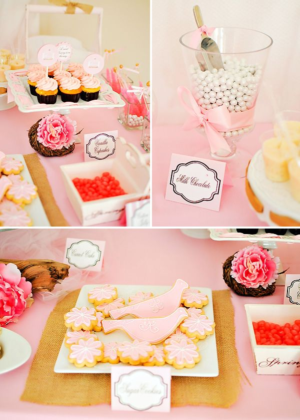 """Gorgeous """"Sweet Blessings"""" Baby Shower // Hostess with the Mostess®"""