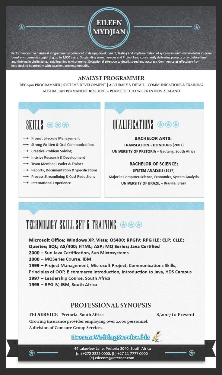 Best Modern Cv Samples Images On   Resume Resume