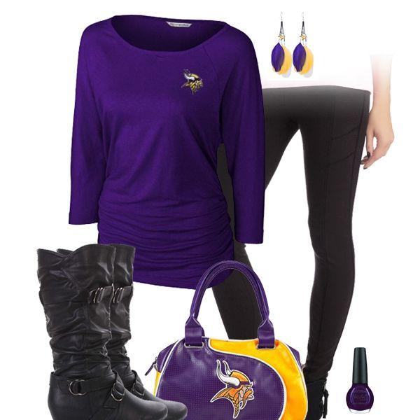 Minnesota Vikings Leggings Outfit