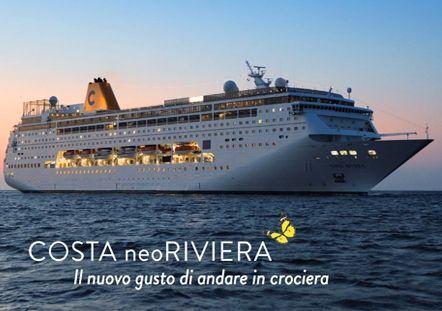 Febbraio: Dubai, Oman, Emirati Arabi, 7 notti con imbarco e sbarco a Dubai, con Costa neoRiviera con volo da Ancona...a soli 1.970 € per 2 persone