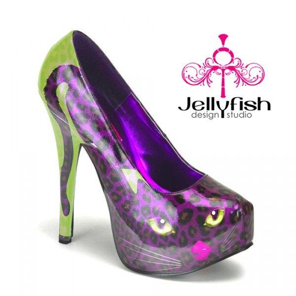 Purcilla Pump in purple from Jellyfish Shoes Studio in Miami