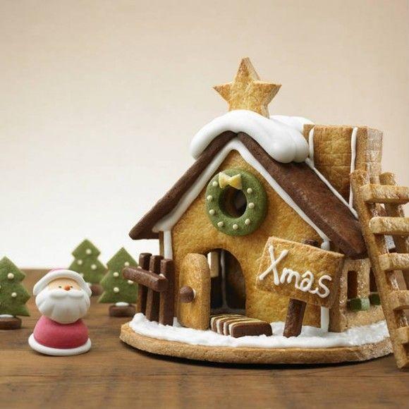 今年のクリスマス用にも!無印良品の大人気「お菓子の家」キット 画像(1/3) クリスマス限定キットで簡単に作れる。「自分でつくる 生地からつくる ヘクセンハウス」1200円(税込)