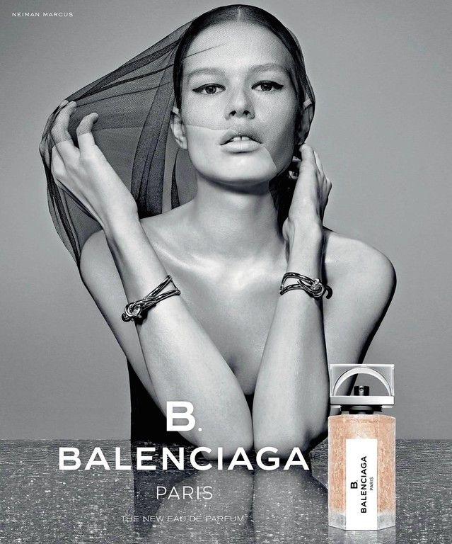 Balenciaga Perfume Advertising