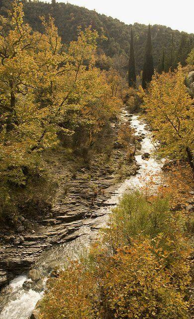 stream and fall.. Mountainous Arcadia, Greece | Flickr - Thalia Nouarou Photography