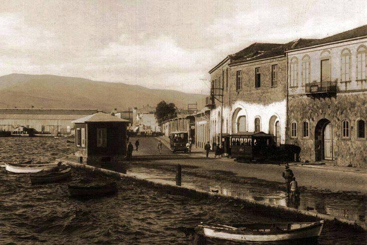 Konak, sağdaki ilk binanın yerinde bugün Büyükşehir Belediyesi Binası var.