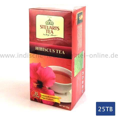 Steuarts-Tea-Hibiskus-Tee-Hibiscus -25-Teebeutel