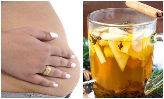 bebida para aplanar el vientre
