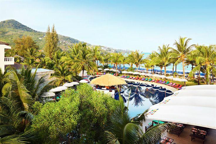 Sunprime Kamala Beach, Thailand. Sunprime Kamala Beach består av sju byggnader som ligger direkt vid stranden eller ett stenkast därifrån. På hotellområdet finns en trädgård med fyra sköna pooler. Läs mer på http://www.ving.se/thailand/kamala-beach/sunprime-kamala-beach-resort/?utm_source=pinterest&utm_medium=social-media&utm_campaign=sunprime_map