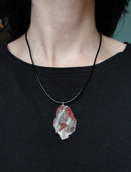 Pendant Agate slate with silver 925 from Jewelry&Hand Made by DaWanda.com