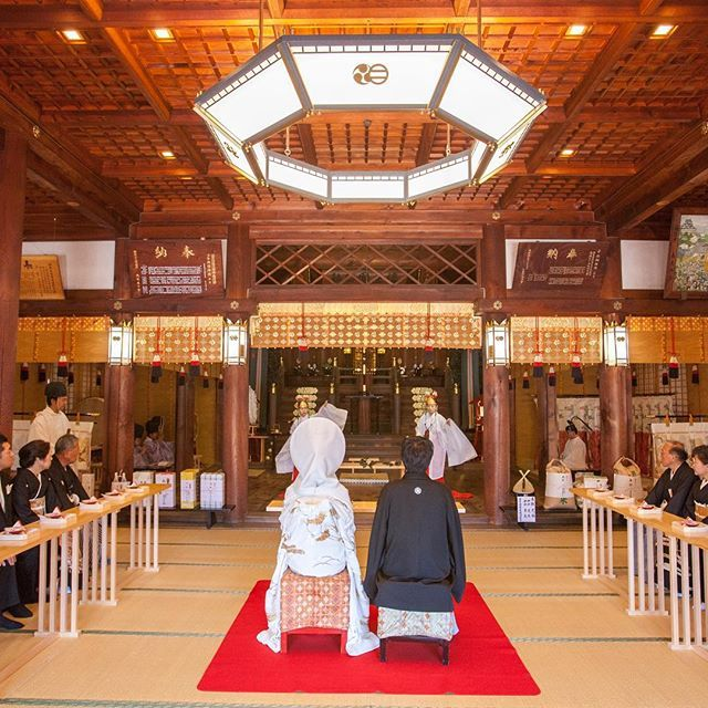 厳かな気持ちになる日本伝統の神前式。荘厳なウェディング♡参考にしたいブライダル・結婚式のアイデア☆