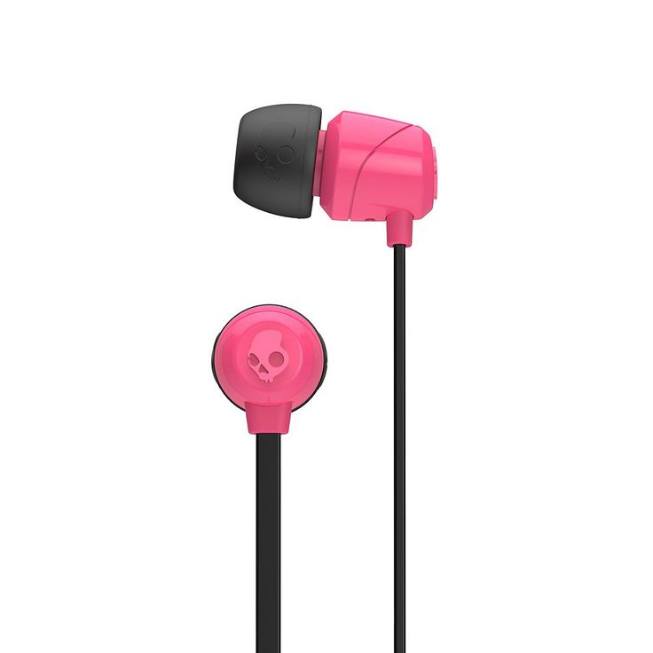 Skullcandy Jib Noise Isolating Earbuds, Pink