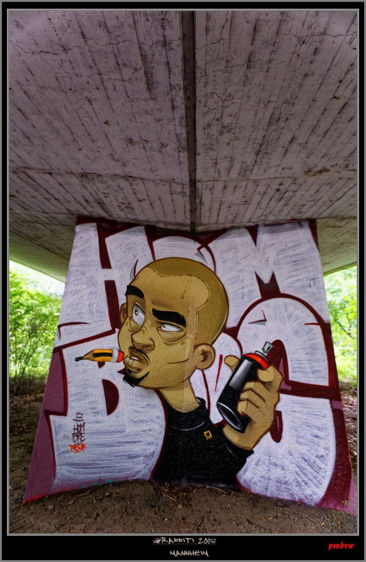 https://flic.kr/p/CVyoEY | Graffiti Characters | Mannheim