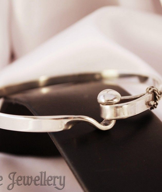 Sterling Silver Bangle | Why Not Spoil Yourself Today