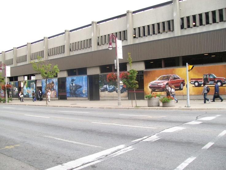 Bus Terminal Mural