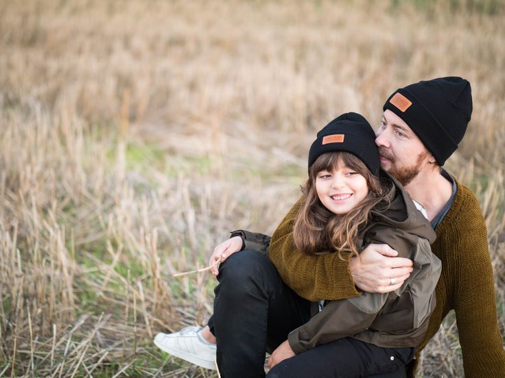 Fall Outfit inspiration, Merino Wool Beanies for father and daughter by VAI-KØ. Shop here!