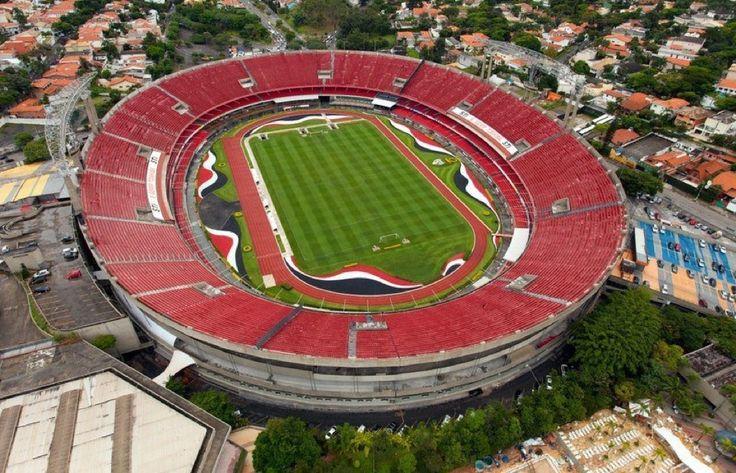 Estádio Cícero Pompeu de Toledo (Morumbi) em São Paulo, SP