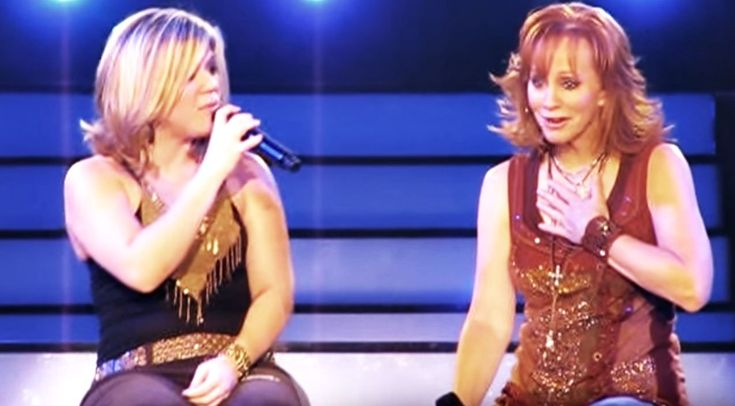 Country Music Lyrics - Quotes - Songs Reba mcentire - Reba Gets Emotional In Heartbreaking Duet With Kelly Clarkson - Youtube Music Videos https://countryrebel.com/blogs/videos/reba-gets-emotional-during-classic-duet-with-kelly-clarkson
