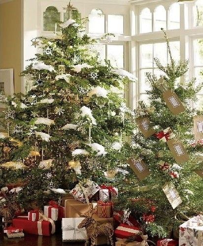 Old Christmas Tree Decorations: Seasonal Country Decorating