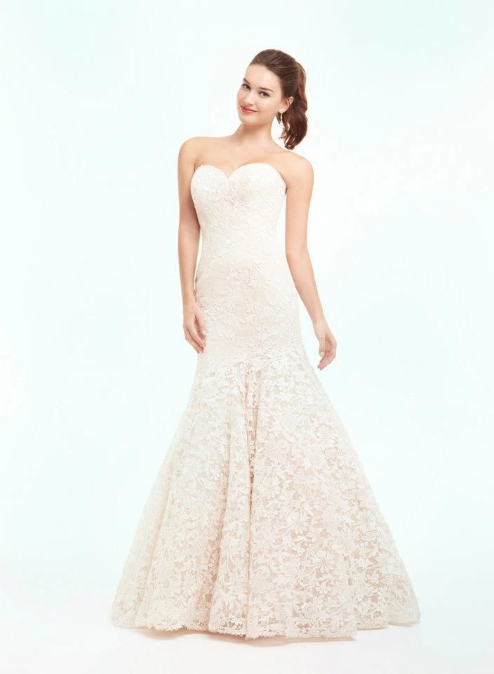 The 65 best Blush/pink wedding gowns images on Pinterest | Wedding ...