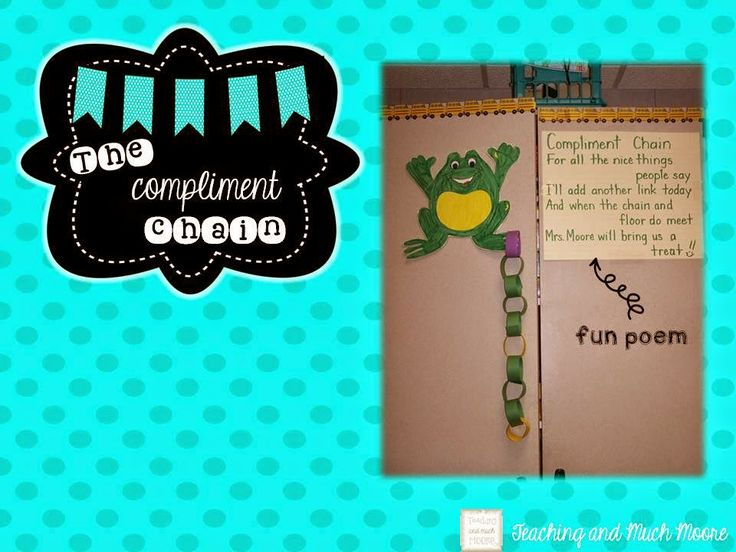 Bright Ideas Blog Hop * Compliment Chain * - Traditions, laughter and happily ever after