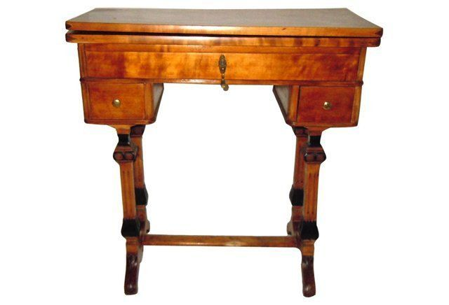 19th-C. Scandinavian   Game Table