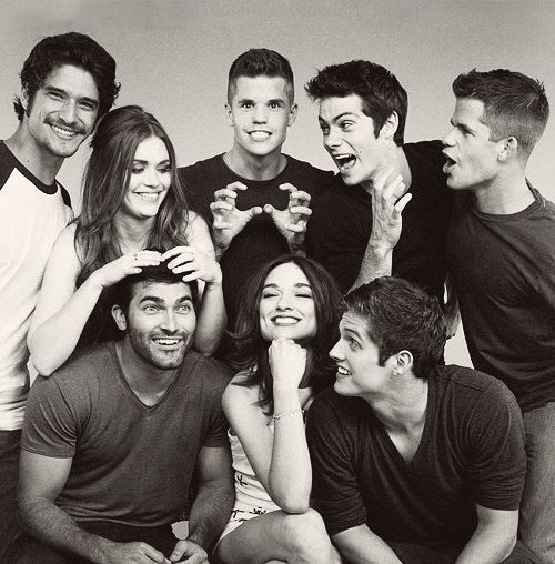 Teen Wolf. But literally everyone on this show is so hot, Dylan O'brien in particular. Actually I think he is the only reason I still watch.