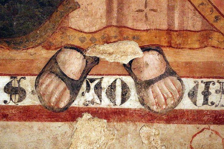 Artista umbro - Storie della vita di Cristo - 1400-15 ca - affresco - Museo civico di Gualdo Tadino (Umbria)