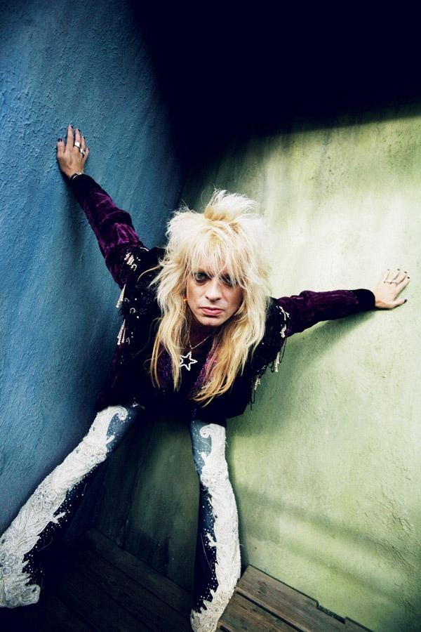 Michael Monroe (Photo by Ville Akseli), our rock star who is already over 50. I love him :) and he lives in my Turku