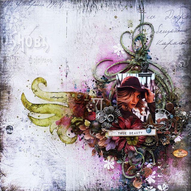 Mixed Media Place: True beauty by Juliya Tirskaya