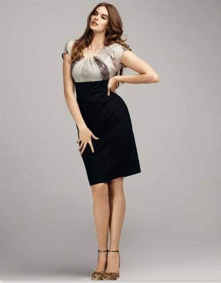 Modelos de vestidos para mujeres altas