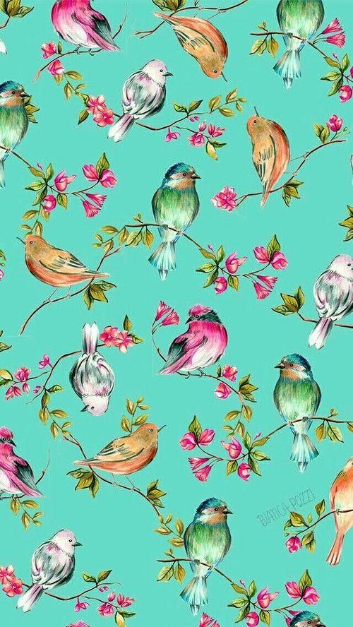 Wallpaper Pattern Wallpaper Bird Wallpaper Iphone Wallpaper