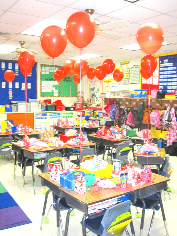 Classroom Birthday Party ~ Best images about dj s daycare valentine day goodie