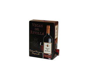 Bag In Box Vin rouge Vegas del Rivilla – Extremadure (Espagne), cubi 5L, 12,5% …
