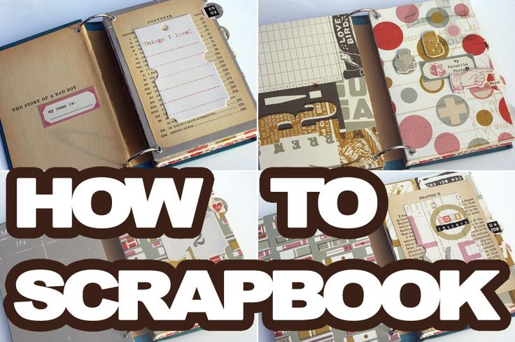 Learning how to scrapbook is fun! It is a great hobby the results in a book you can share with people for a lifetime. I will guide you through the steps on how to go from a pile of photos
