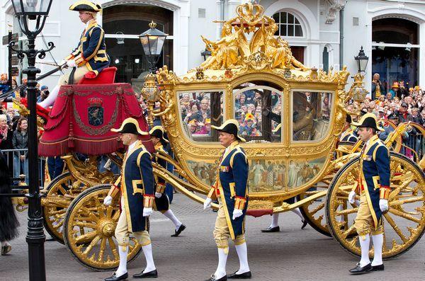 Prinsjesdag met de Gouden Koets