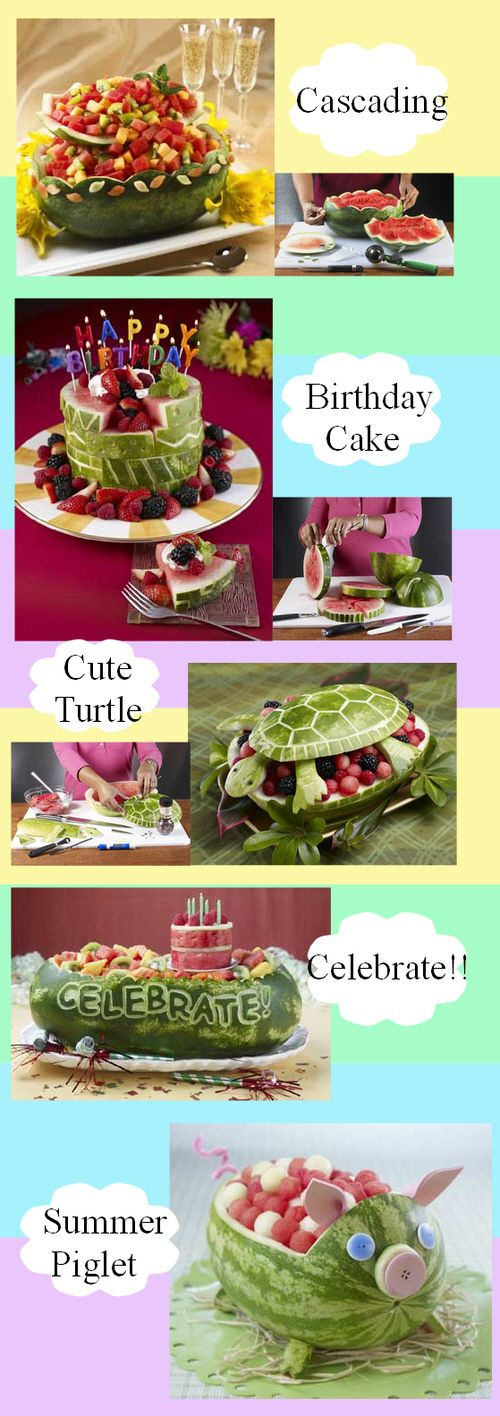 WATERMELON BASKET Ideas and Inspiration