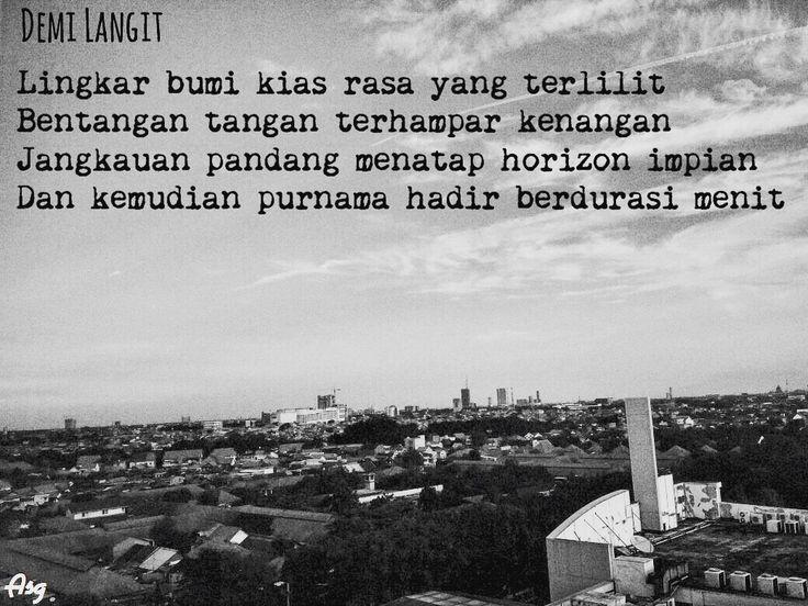 Surabaya, Puisi Monokrom l Demi Langit -ASG-