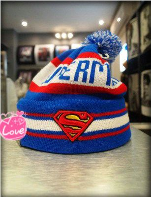 AAAwholesaler: : Buy new 2014 Fashion Superman super man beanie knitted hat bboy cold cap hiphop hip hop hat knitted winter hats for men and...